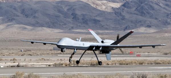 USAF drone - picture credit Bryan Jones