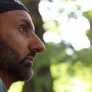 Babar Ahmad in a wood
