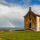Church and Rainbow