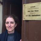 Sr Carol at the Monastic Community of Dier Mar Musa